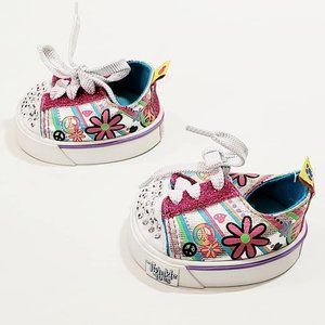 Build a Bear Twinkle Toes Skechers Shoes Sneakers